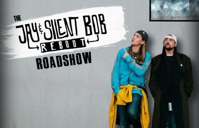 Jay and Silent Bob Reboot Roadshow at Knight Theatre