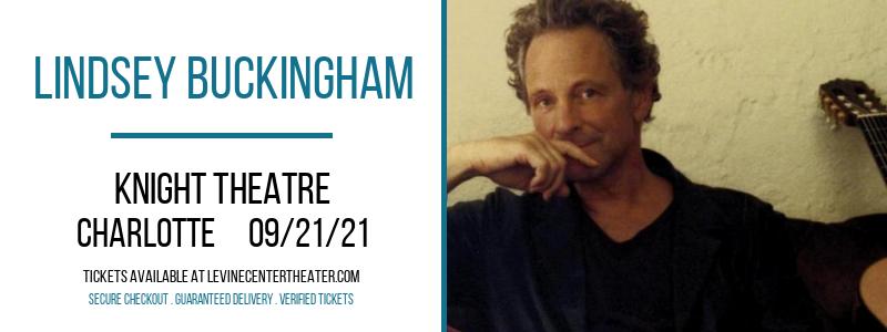 Lindsey Buckingham at Knight Theatre