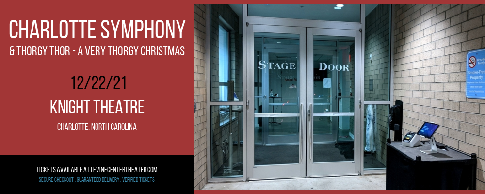 Charlotte Symphony & Thorgy Thor - A Very Thorgy Christmas at Knight Theatre